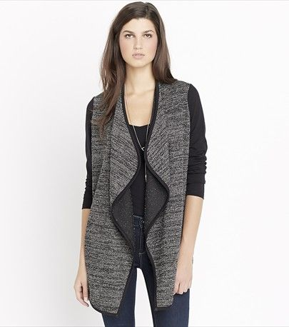 Two-Tone Jacquard Overpiece