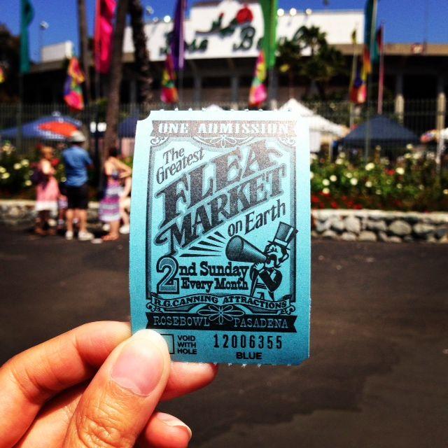 Shopping tips + tricks for The Rose Bowl Flea Market in Pasadena, California. Los Angeles.