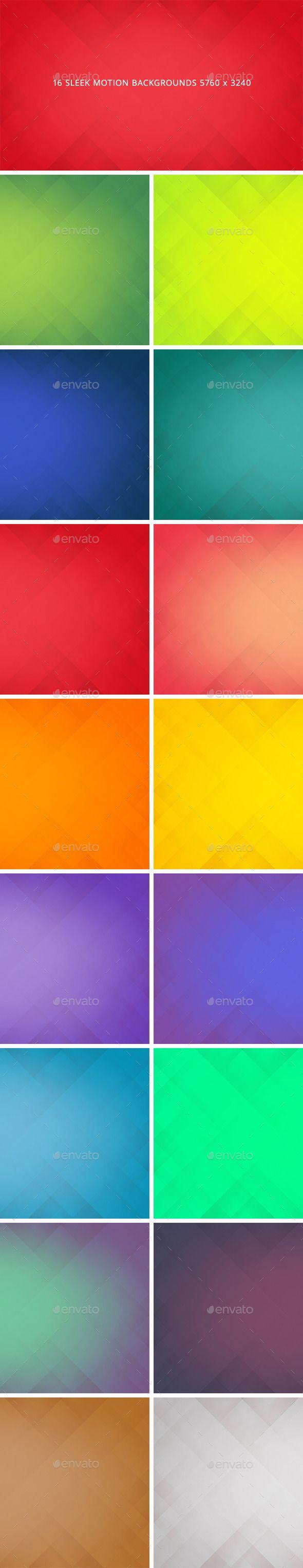 16 Sleek Motion Backgrounds PNG, JPG #design Download: http://graphicriver.net/item/16-sleek-motion-backgrounds/13813989?ref=ksioks