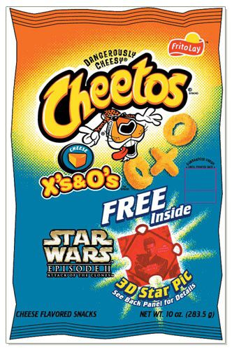 Cheetos X's and O's