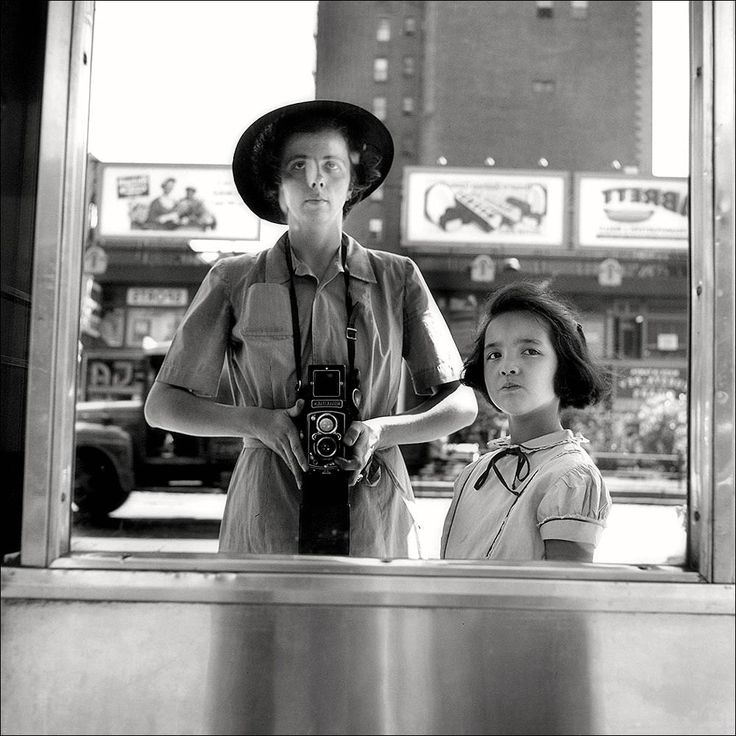 Vivian Maier · Self Portrait | Self-timer · 1953 · New York