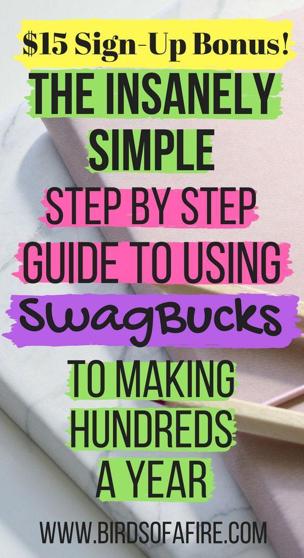 Review: $20 SwagBucks Sign-Up Code Promo Bonus   Side