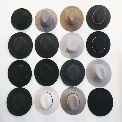 Hat wall.
