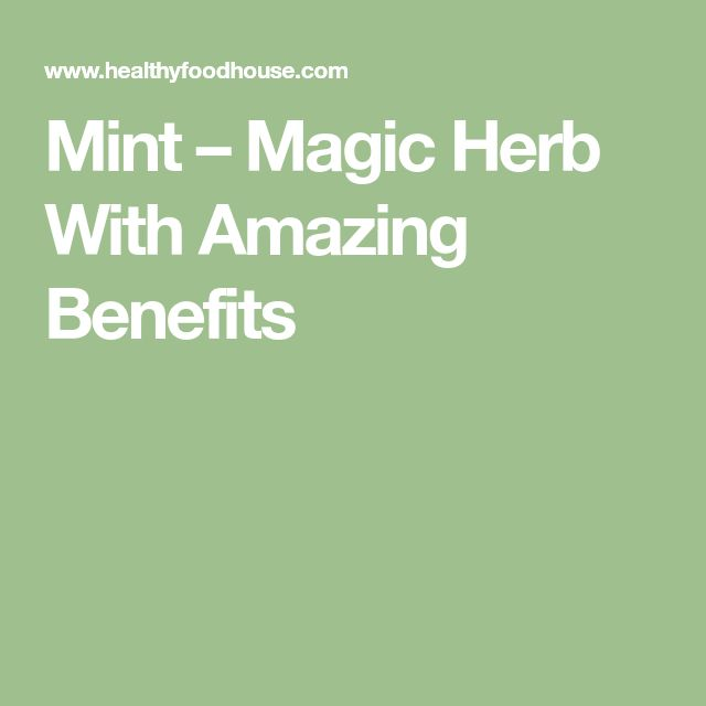 Mint – Magic Herb With Amazing Benefits