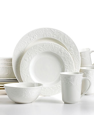 martha stewart collection dinnerware vintage rose