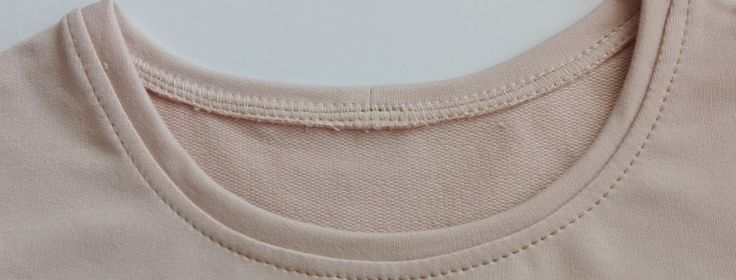 W ten sposób pięknie wykończysz dekolt dzianinowej bluzki, bluzy, tuniki lub sukienki.