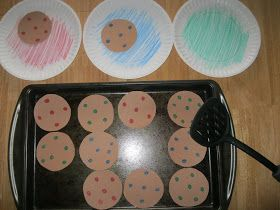 The Preschool Experiment: Tot Trays: If You Give a Mouse a Cookie