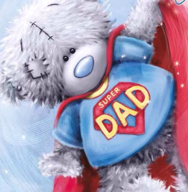 ♥ Tatty Teddy ♥ Super Dad ♥
