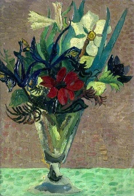 Christopher Wood - Flowers in a Glass