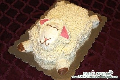 ... cake on Pinterest | Lamb cake, Pull apart cupcake cake and Bunny cakes