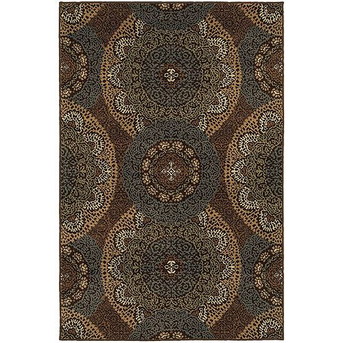 Better Homes and Gardens Lace Medallion Olefin Rug: Home And Garden