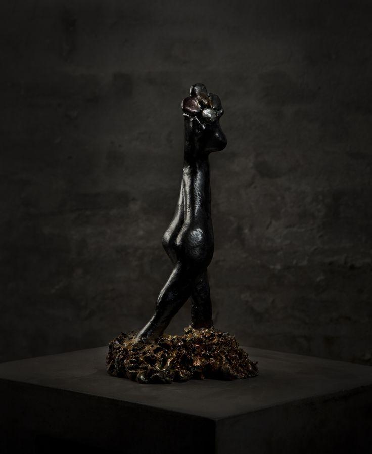 Like af flower - ceramic sculpture