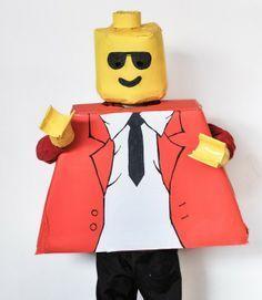 Cómo hacer un disfraz de Lego por menos de 7€