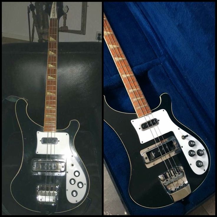 My Rickenbacker 4001 bass from 1978....