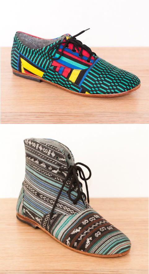 Padrões indígenas mostram sua força na moda em sapatos casuais - Cleon Gostinski - Fonte Nylon