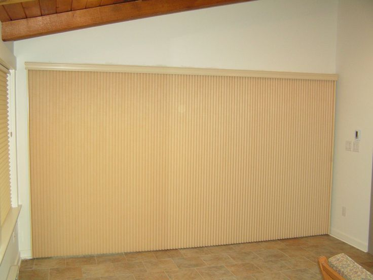 Vertiglide Duette Architella Honeycomb Shade On A Huge