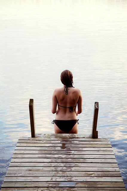 Swimming in Lake Saimaa by Visit Finland, via Flickr