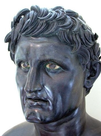 Seleucus I Nicator Found in Herculaneum, villa of the papyrii