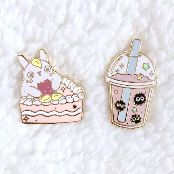 Totoro Sweets Enamel Pin by KrittiyaChok on Etsy