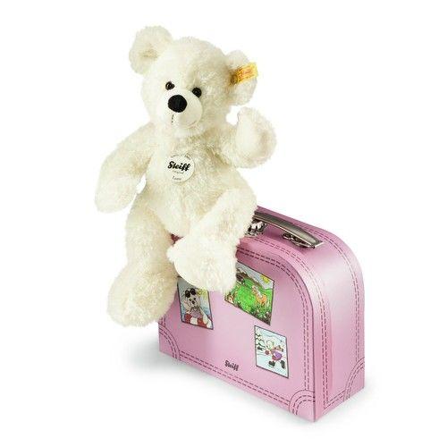 Steiff 111563 Lotte Teddy bear in suitcase