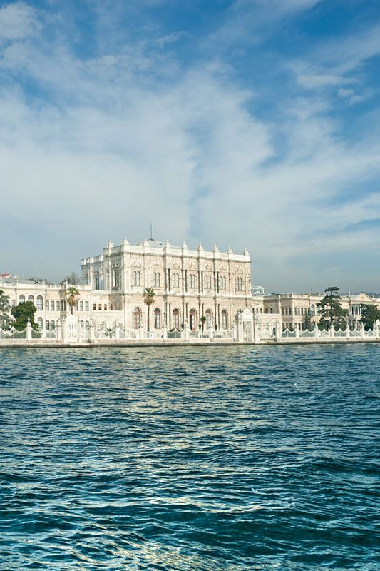 Dolmabahce Palace Istanbul. For the best boutique hotels in Turkey visit http://www.mediteranique.com/hotels-turkey/istanbul/