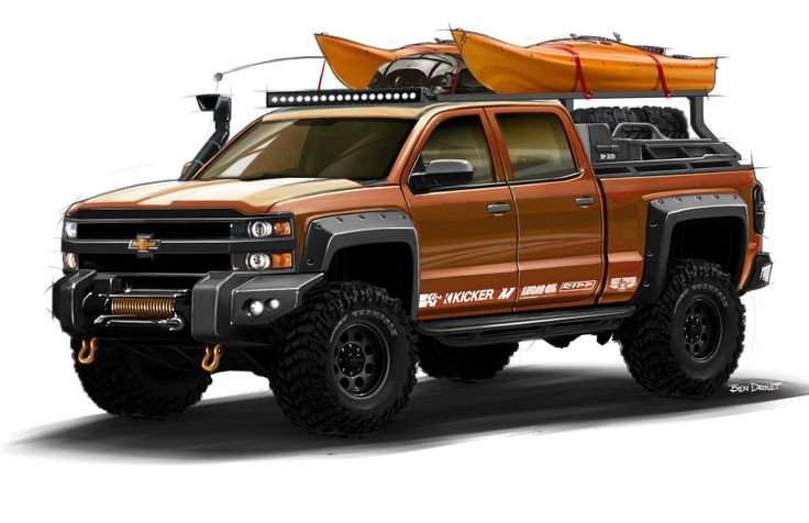 2015 Chevy HD Expedition Vehicle Rendering