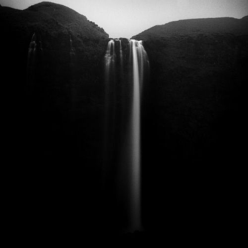 a break in the earth.Water, Photos, Iceland, Michael Schlegel, Black And White, Black White, Nature Photography, Places, Landscapes Photography