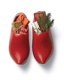 what I'd love to find under the tree...instead of clogs, a new pair of snow boots filled with little lovelies...