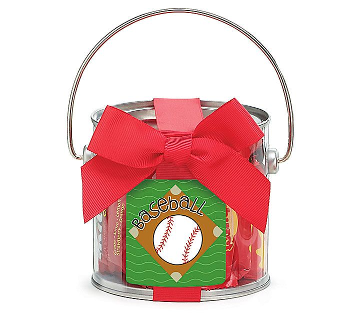 Make Baseball #OpeningDay a sweet treat! #burtonandburton #baseball #paintcans