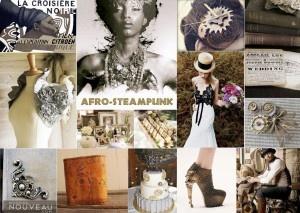 Uncategorized | | vintage-metallic-african-steampunk-wedding-inspiration-board
