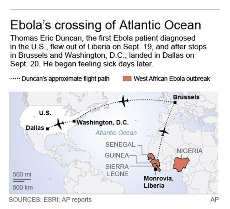 Ebola Update Dallas ER sent Ebolainfected patient home