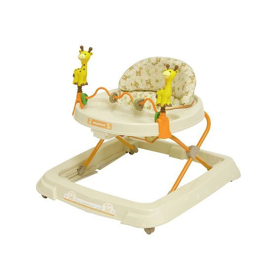 This Walker From Baby Trend Features An Extra Wide Base That Provides Added Support And Stability While Your Discovers New Ground