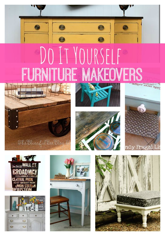 Pinterest Furniture Makeovers