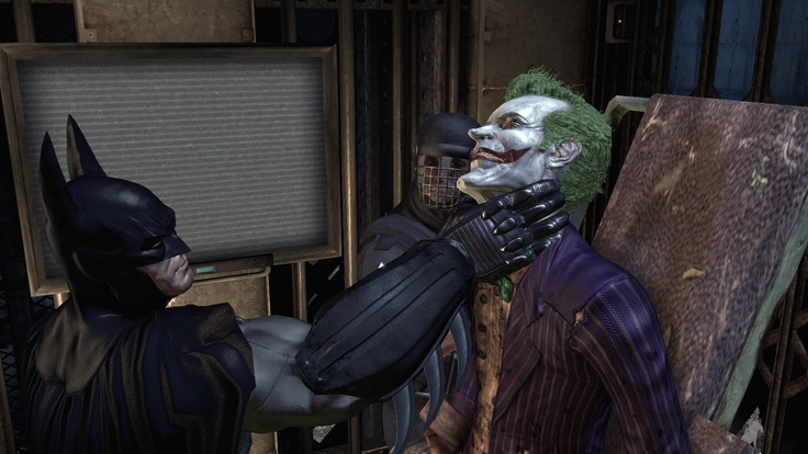 Batman Archam Asylum played on my PC Specs AMD 970 @ 4.01GHz ASUS Crosshair IV Formula 6970