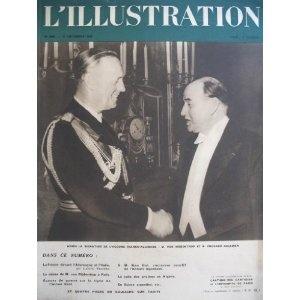 L'Illustration - n°4998 - 17/12/1938 - Après la signature de laccord franco-allemand : M. Von Ribbentrop et M. Edouard Daladier [magazine mis en vente par Presse-Mémoire]