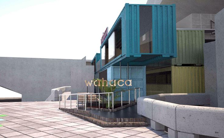 1000 ideas about wahaca on pinterest container restaurant restaurant plan and shipping - Wahaca shipping container restaurant ...