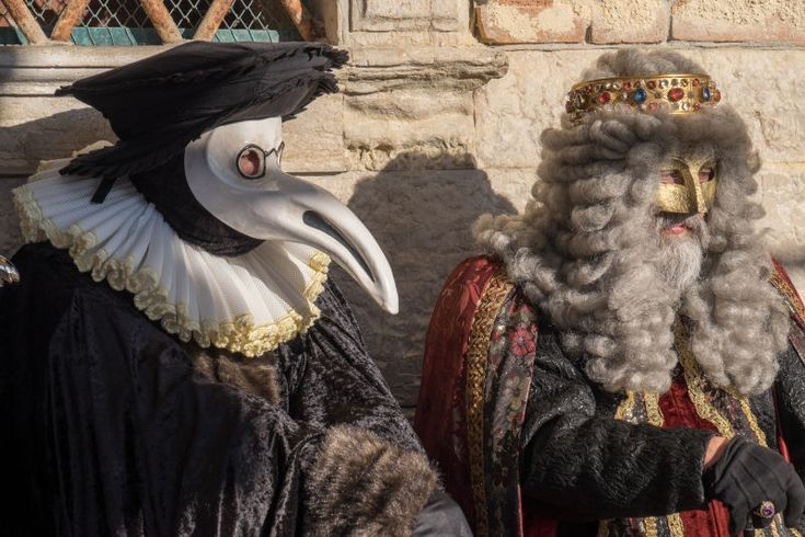 """One of the most distinctive masks worn during the Carnival of Venice is """"Il Medico della Peste,"""" or """"The Plague Doctor."""" But the distinctive…"""