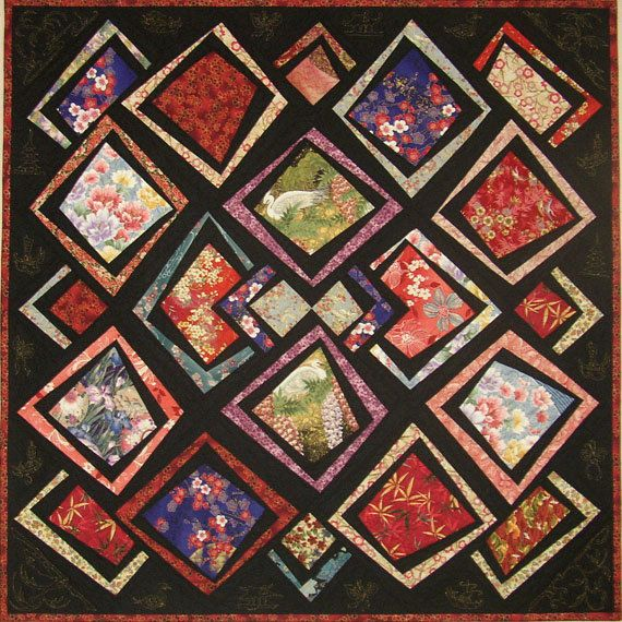 Asian Antics Quilt Pattern Willow Brook Quilts by UndercoverQuilts, $11.00