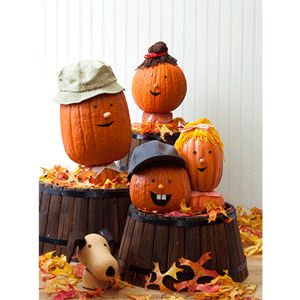 Pumpkin Family Craft