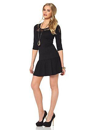 Achat en ligne de Robe en jersey MELROSE - schwarz | Jelmoli-Shop