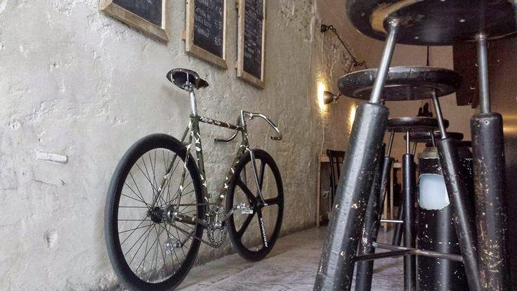 Restauro bici di Francesco: l'artista del restauro di Mantova  [PZZ garage - report]