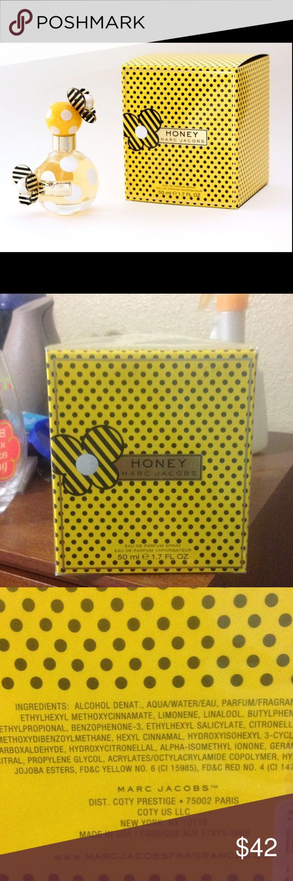 Marc Jacobs Honey Brand new (plastic still on) Marc Jacobs Honey parfum spray. Open to offers but please don't low ball Marc Jacobs Makeup