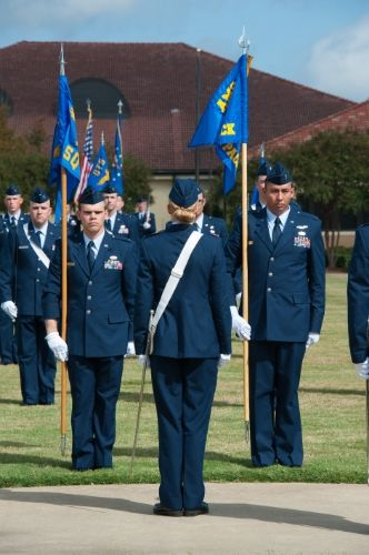 Air Force Officer Training School holds its first simultaneous graduation of active-duty, Air Force Reserve and Air National Guard officer trainees Oct. 10, 2014, at Maxwell Air Force Base, Ala.