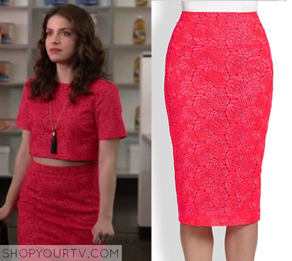 Kevin From Work: Season 1 Episode 1 Audrey's Rose Print Skirt