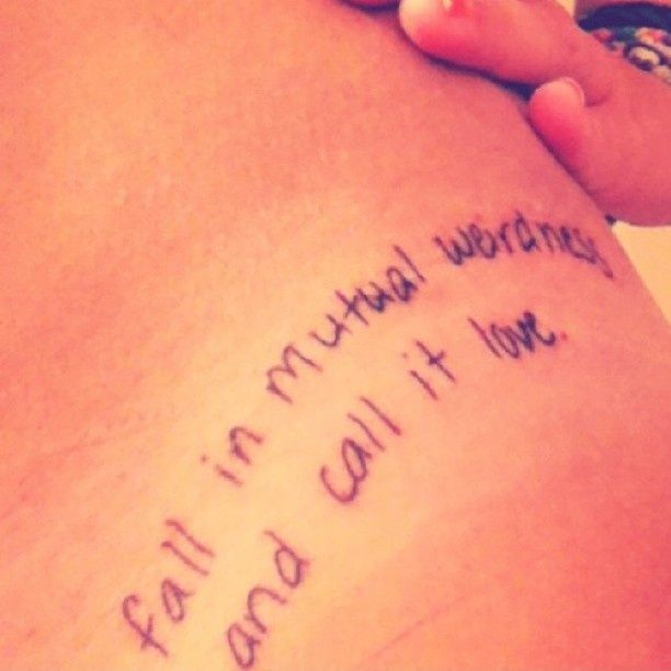 Tattoo Quotes Couples: 25+ Trending Couple Tattoo Quotes Ideas On Pinterest