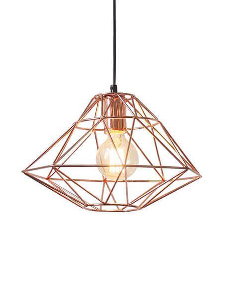 Copper Wire Pendant Light | Modern Furniture • Brickell Collection