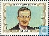 Postage Stamps - Syria - President Hafez al-Assad