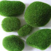 Моделирование мох неправильная зеленый камни трава аквариум сад растение своими руками микро-карты пейзаж украшения(China (Mainland))