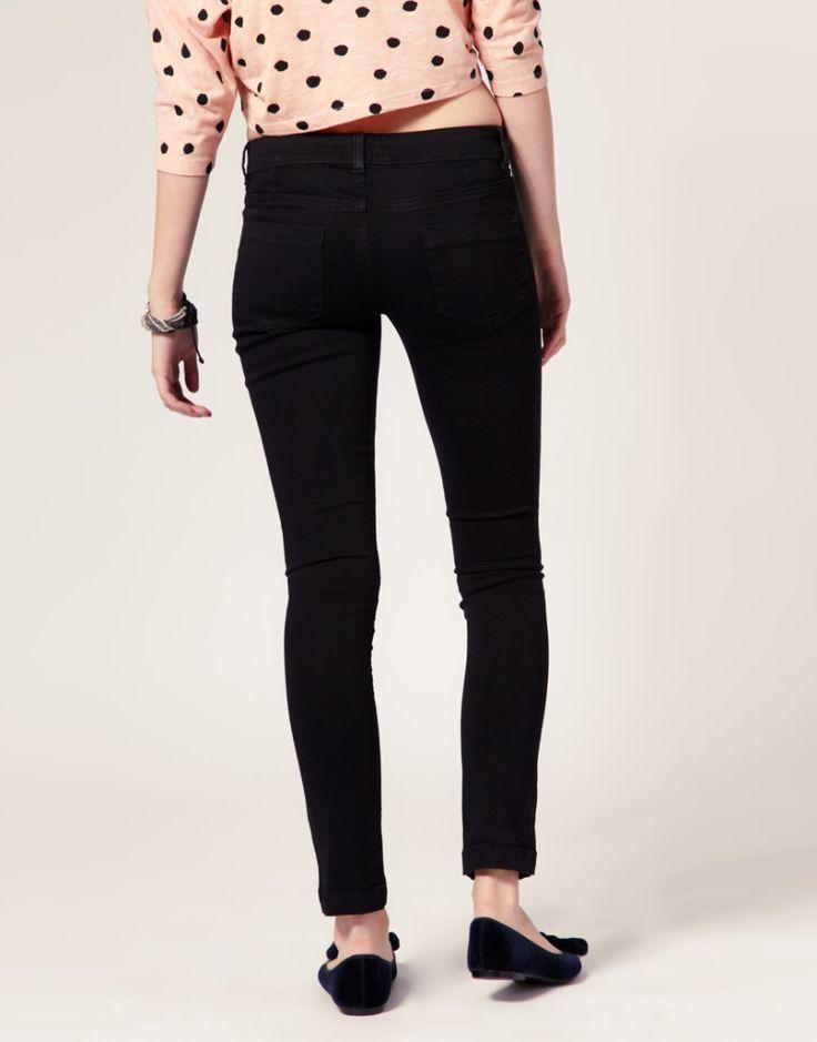 Supersoft Black Skinny Jeans