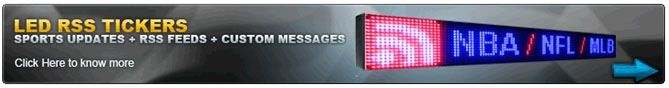 The new editions support all RSS feeds, LED and LCD displays and any Microsoft desktop. These display boards can be pre feed according the user requirements.This retrieval is done dynamically. Read more at:- http://www.tickerplay.com/led-rss-ticker.html